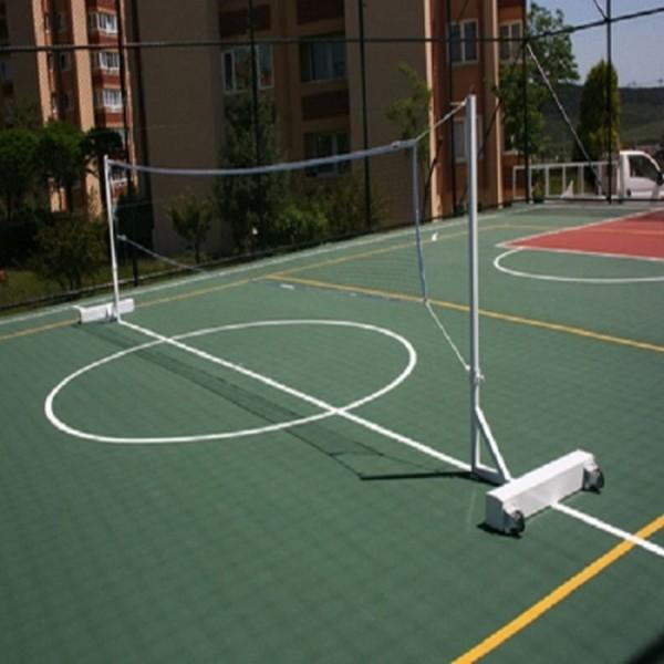 Seyyar Badminton Direği